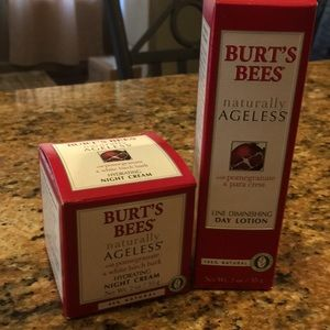 Burt's bees night and day lotion brand new